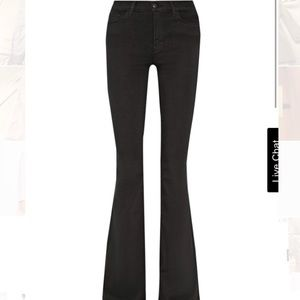 JBrand Maria High Rise Black are size 24